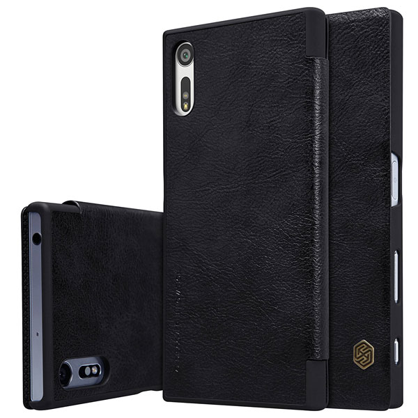 Accessory-Nillkin-Qin-Flip-Cover-Sony-Xperia-XZ-Buy-Price