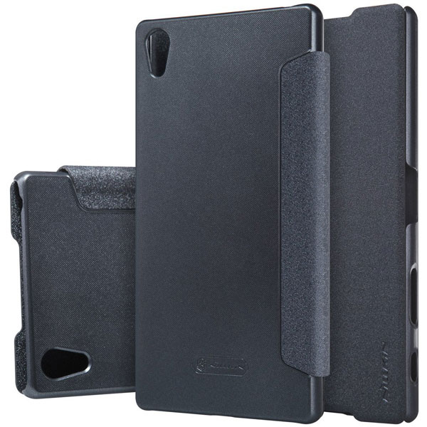 Accessory-Nillkin-Sparkle-Flip-Cover-Sony-Xperia-Z5-Premium-Buy-Price