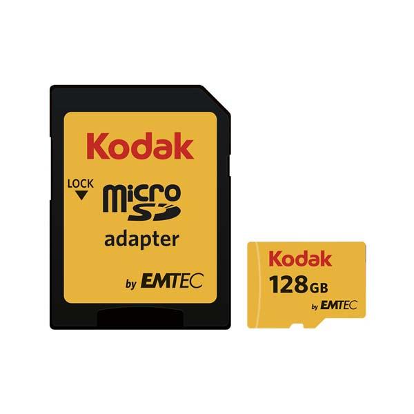 Emtec Kodak UHS-I U1 Class 10 85MBps 580X microSDHC 128GB-Buy-Price-Online