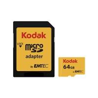 قیمت خرید کارت حافظه کداک 64 گیگابایت همراه با آداپتور SD