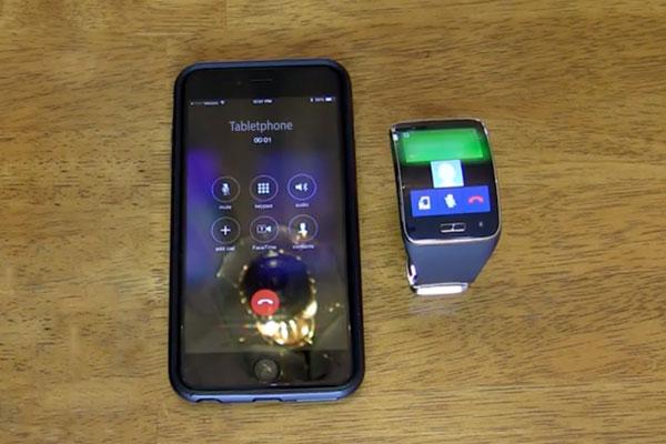آموزش جفتسازی ساعت سامسونگ Gear S با گوشی آیفون