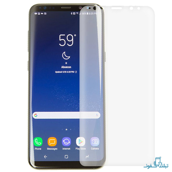 Mocoll TPU Full Cover Glass Screen Protector For Samsung Galaxy S8 Plus-Buy-Price-Online