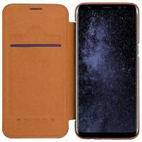 قیمت خرید کیف چرمی نیلکین گوشی موبایل سامسونگ S8 پلاس