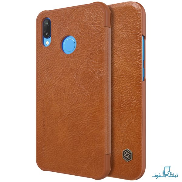 Nillkin Qin Leather case for Huawei P20 Lite (Nova 3E)-6-Buy-Price-Online