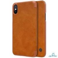 قیمت خرید کیف چرمی نیلکین گوشی اپل آیفون X