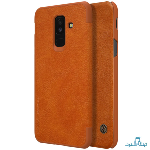 Nillkin Qin for Samsung Galaxy A6 Plus (2018)-1-Buy-Price-Online