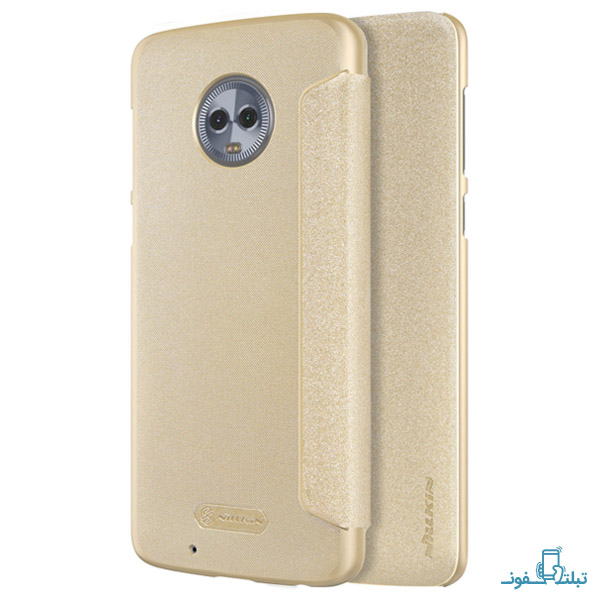 Nillkin Sparkle Series New Leather case for Motorola Moto G6-2-Buy-Price-Online