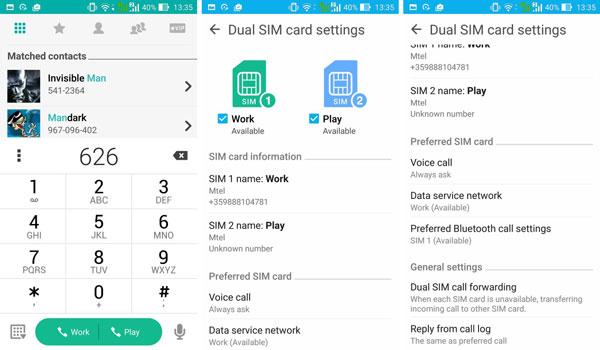 نقد و بررسی گوشی ایسوس زنفون سلفی ZD551KL - تماس صوتی asus zenfone zd551kl Asus Zenfone ZD551KL Phone Asus Zenfone Selfie ZD551KL Review Benchmarks Telephony