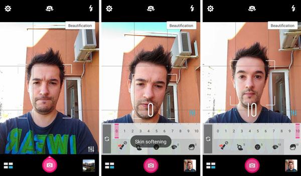 نقد و بررسی گوشی ایسوس زنفون سلفی ZD551KL - حالت های عکاسی دوربین سلفی asus zenfone zd551kl Asus Zenfone ZD551KL Phone Asus Zenfone Selfie ZD551KL Review Camera UI 2