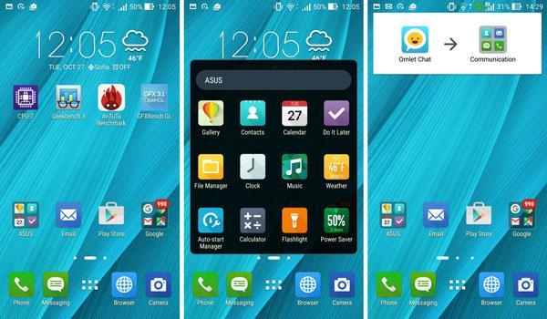 نقد و بررسی گوشی ایسوس زنفون سلفی ZD551KL - باتری - رابط کاربری asus zenfone zd551kl Asus Zenfone ZD551KL Phone Asus Zenfone Selfie ZD551KL Review UI 4