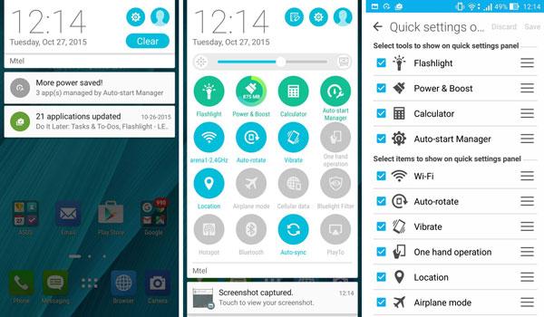 نقد و بررسی گوشی ایسوس زنفون سلفی ZD551KL - باتری - رابط کاربری asus zenfone zd551kl Asus Zenfone ZD551KL Phone Asus Zenfone Selfie ZD551KL Review UI 6