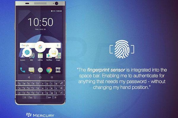 مشخصات گوشی بلکبری DTEK70
