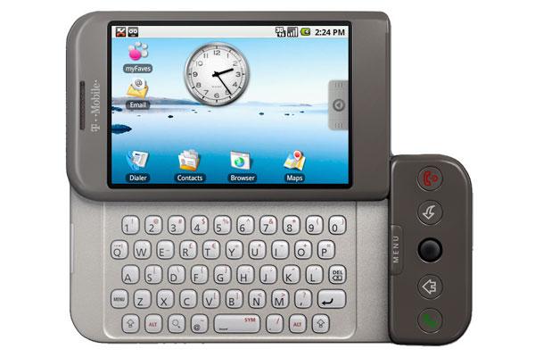 گوشی اچ تی سی دریم اولین گوشی اندرویدی