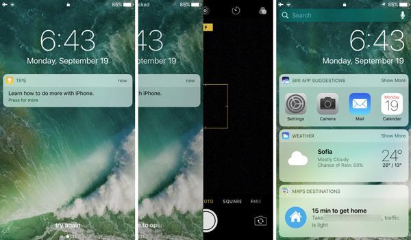 نقد و بررسی گوشی اپل آیفون 7 - رابط کاربری