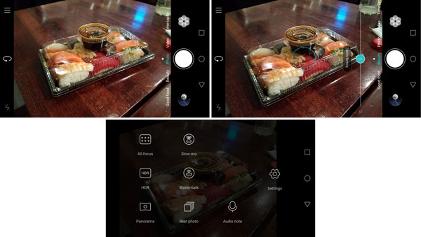 نقد و بررسی گوشی هواوی هانر 5X - رابط کاربری دوربین