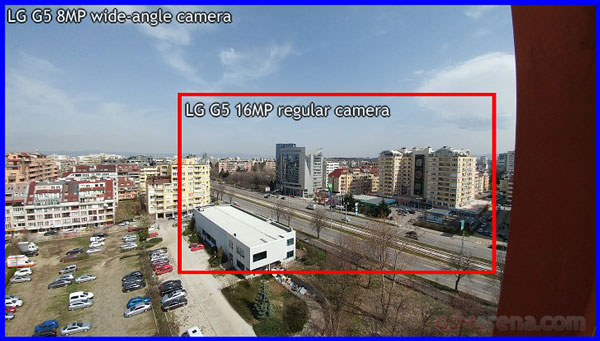 گوشی الجی جی 5 - دوربین
