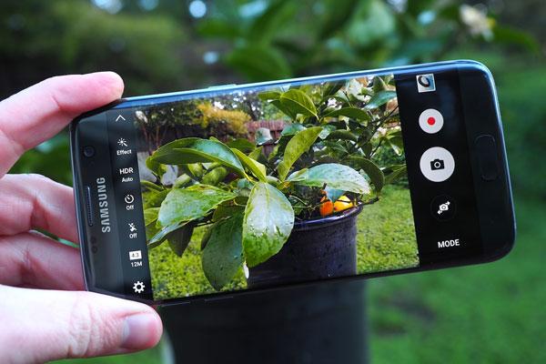 نقد و بررسی گوشی موبایل سامسونگ گلکسی S7 Edge - دوربین