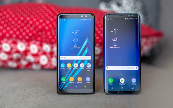 نقد و بررسی کامل گوشی سامسونگ گلکسی A8 2018