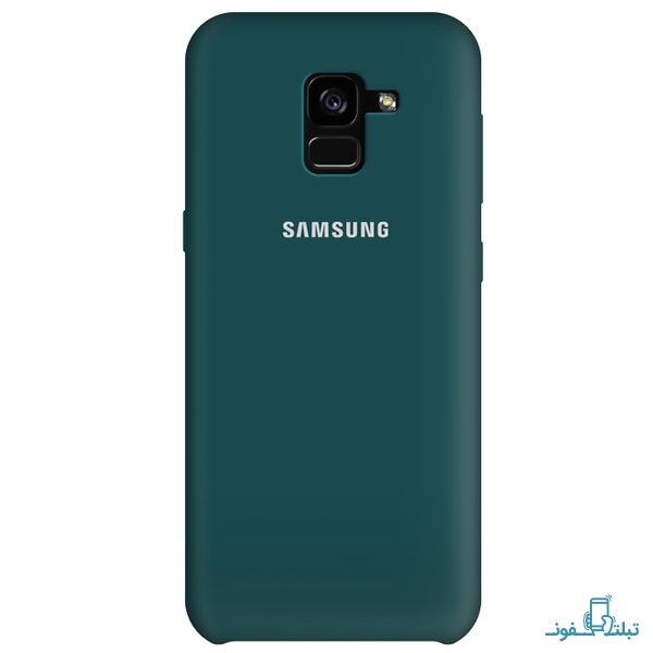 Silicone Cover For Samsung Galaxy A8 2018-1-Buy-Price-Online