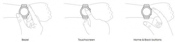 نقد و بررسی ساعت هوشمند سامسونگ Gear S2 - کنترلرها
