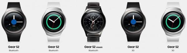 نقد و بررسی ساعت هوشمند سامسونگ گیر اس 2 - نسخه ها