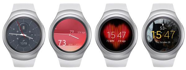 نقد و بررسی ساعت هوشمند سامسونگ Gear S2 - واچ فیس ها