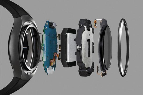 نقد و بررسی ساعت هوشمند سامسونگ Gear S2 - قطعات