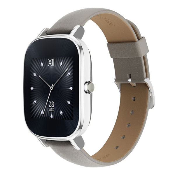 Smartwatch-Asus-Zenwatch-2-WI502Q-Leather-Strap-Buy-Price