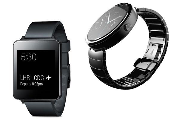 ساعت هوشمند الجی جی واچ و موتورولا موتو 360