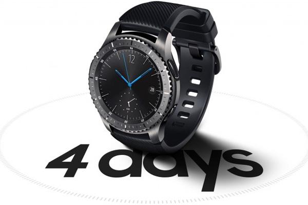 نقد و بررسی ساعت هوشمند سامسونگ Gear S3 - طول عمر باتری