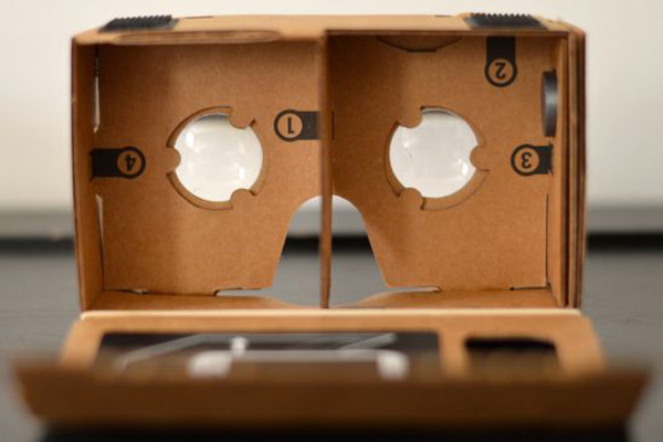 هدست واقعیت مجازی گوگل مقوایی