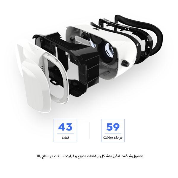 طراحی هدست واقعیت مجازی ROCK BOBO 3D VR