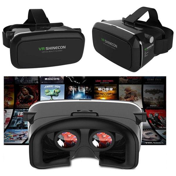 نقد و بررسی هدست واقعیت مجازی Shinecon VR