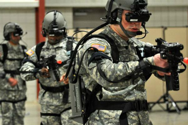 کارایی های هدستهای واقعیت مجازی در ارتش