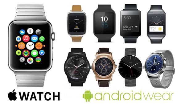 ساعت های هوشمند مبتنی بر واچ اواس و اندروید ور