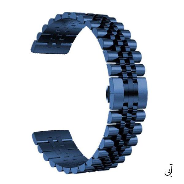 بند استیل ساعت هوشمند مدل 5Rows