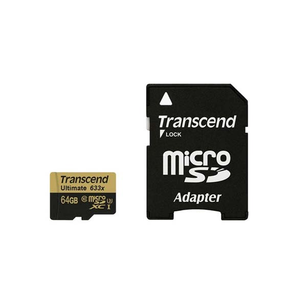 64GB Transcend Class 10 Ultimate 633X-Buy-Price-Online