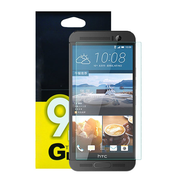 قیمت خرید محافظ گلس موبایل اچ تی سی وان M9 پلاس