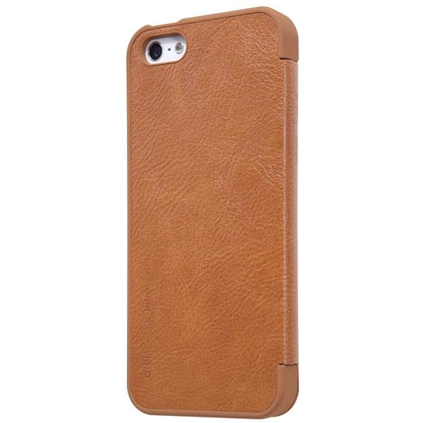 قیمت خرید کیف چرمی نیلکین گوشی موبایل اپل آیفون SE