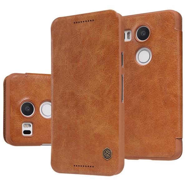 قیمت خرید کیف چرمی نیلکین گوشی موبایل ال جی نکسوس 5X