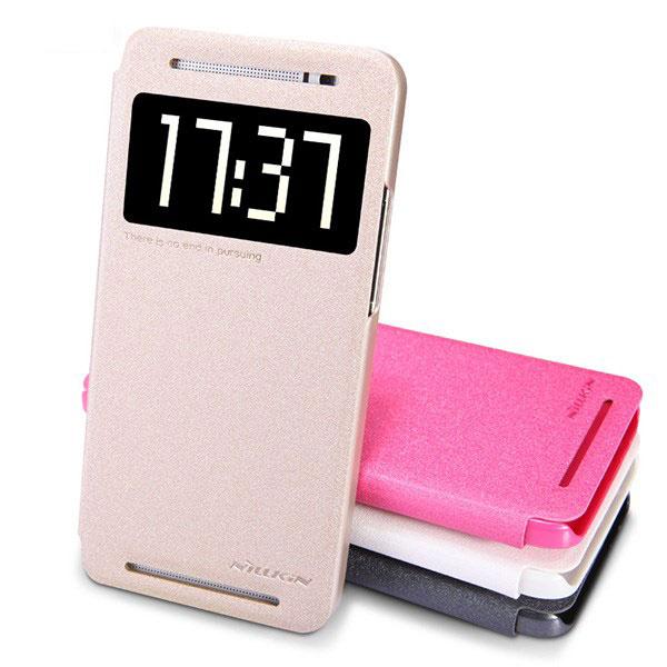 Accessory-Nillkin-Sparkle-Flip-Cover-HTC-One-E8-Buy-Price