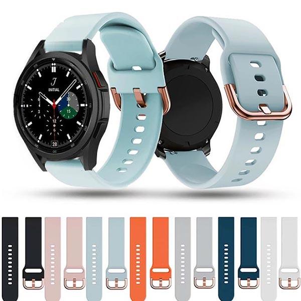 خرید بند ساعت سامسونگ گلکسی Watch 4 Classic سیلیکونی طرح اکتیو