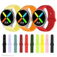 بند سیلیکونی ساعت شیائومی IMILAB KW66 مدل دکمهای