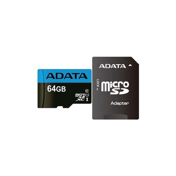 Adata Premier UHS-I U1 Class 10 85MBps microSDXC With SD Adapter- 64GB-Buy-Price-Online