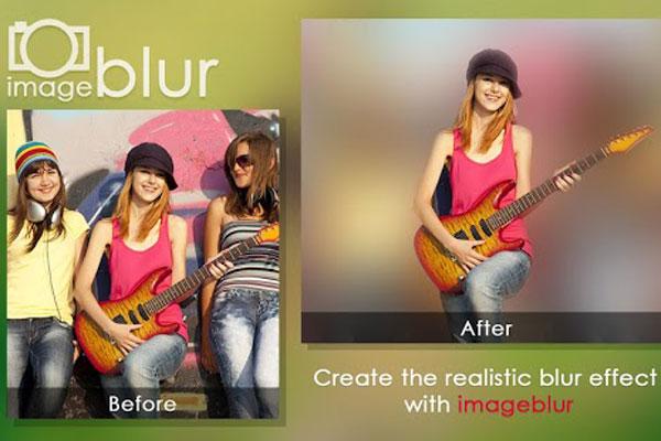 اپلیکیشن Blur Image برای اندروید