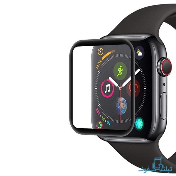 محافظ صفحه نمایش 3D ساعت هوشمند اپل 44mm