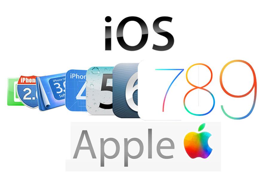 تاریخچه سیستم عامل iOS اپل