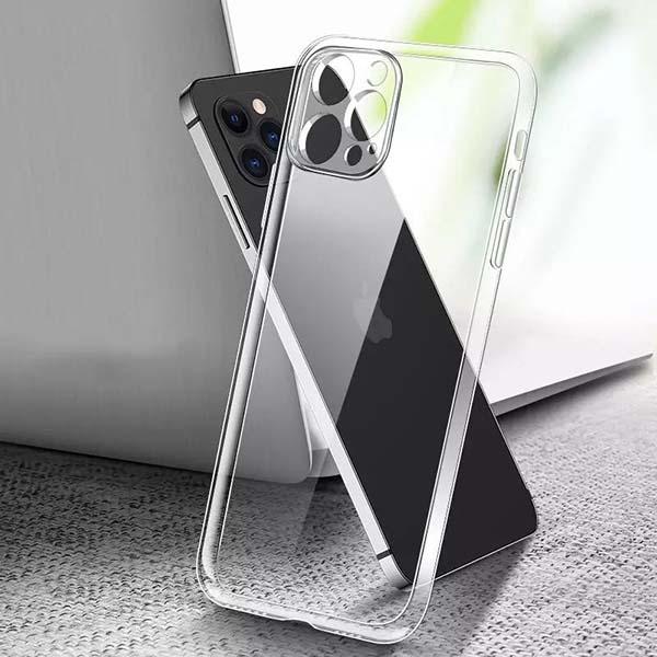 خرید قاب ژله ای اپل iPhone 12 Pro مدل محافظ دوربین