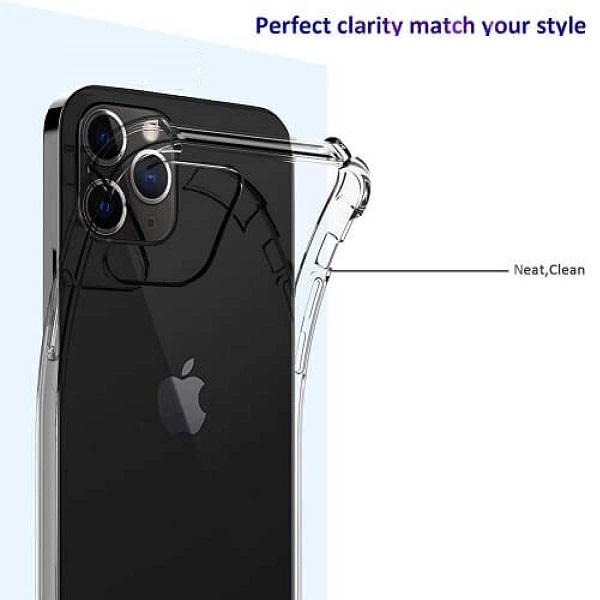 خرید قاب گوشی اپل آیفون 13 پرو مکس ژله ای کپسولی