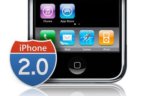 گوشی اپل آیفون 2 با سیستم عامل iPhone OS 2